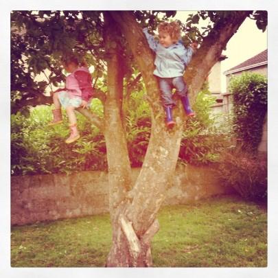 Tessa & Ollie in Tree 16.06.12